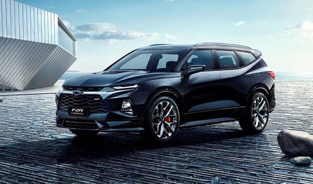 Chevrolet обяви седемместна версия на новия Blazer