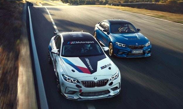 BMW представи състезателната версия на M2