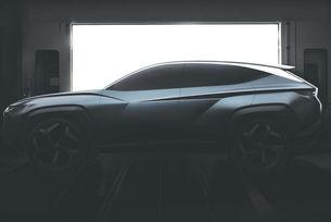 Hyundai показа нов кросоувър на видео