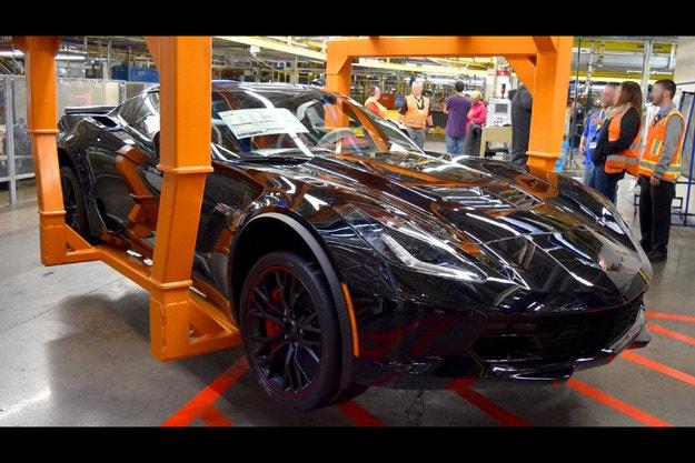 Край на производството за Chevrolet Corvette C7
