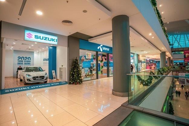 Suzuki отвори Pop-Up магазин в столичен мол