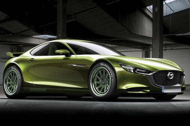 Mazda обмисля роторен спортен автомобил