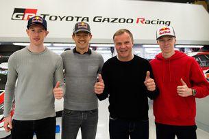 Toyota представи Ожие, Еванс и Рованпера