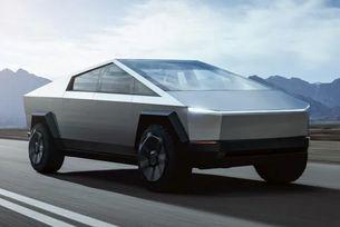 Представят пикапа Tesla Cybertruck в движение
