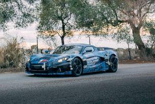 Хърватската компания Rimac показа нов хиперавтомобил