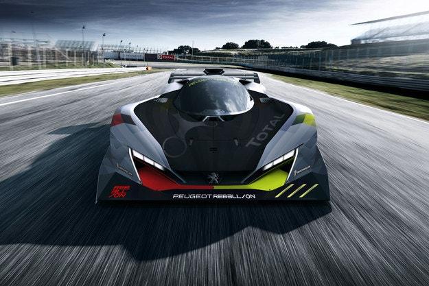 Peugeot показа хибрида за Льо Ман