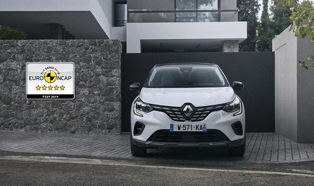Пет звезди за новия Renault Captur от Euro NCAP