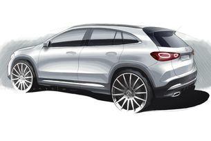 Mercedes показа дизайна на новия GLA