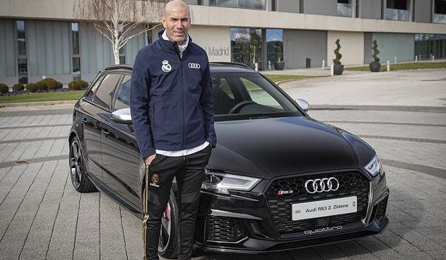 Играчите на Реал Мадрид с нови автомобили Audi