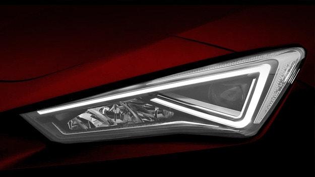 Новият Seat Leon се хвали с диодни светлини