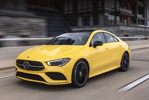 Фамилията Mercedes-Benz CLA се включва в контакта