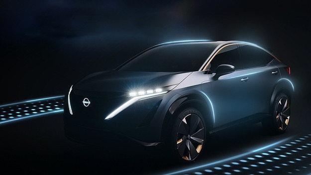 Nissan Ariya се възползва от гостоприемството на CES