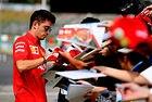 Льоклер преподписа с Ferrari