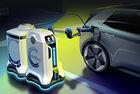Volkswagen измисли мобилно зарядно робот