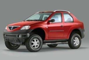 Dacia проектира 4WD SUV
