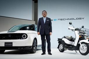 Шефът на Honda изразява недоверие в електромобилите