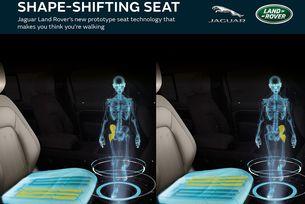 JLR  разработва седалка на бъдещето