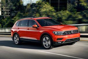 Volkswagen Tiguan ще получи светлини в стил Golf