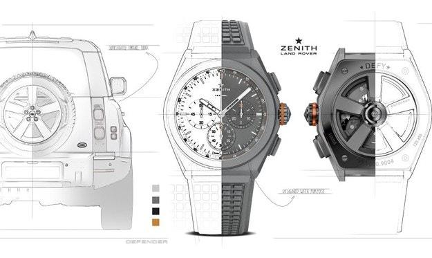 Land Rover и Zenith създават специален часовник