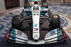 Mercedes показа новите си цветове