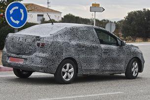 Новият седан Dacia Logan сменя платформата