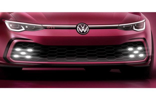 Volkswagen показа тийзър за новия Golf GTI