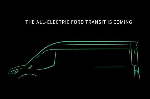 Ford обяви електрическа версия на Transit