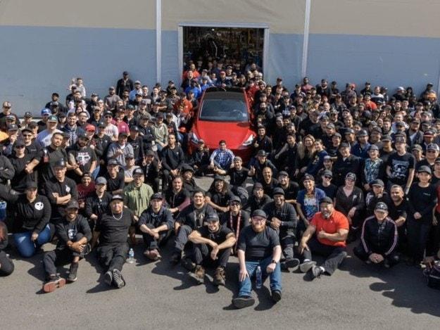Tesla произведе милионния си електромобил