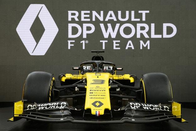 Renault показа новата си цветова схема