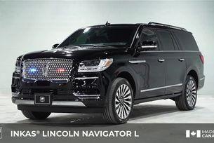 Бронираха Lincoln Navigator с дълга база