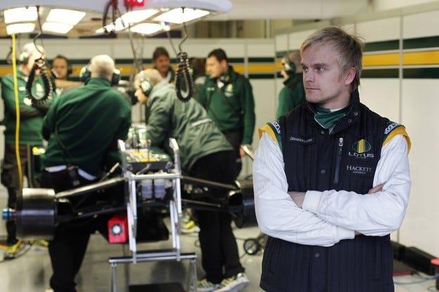 Ковалайнен: Имах проблеми със задните гуми