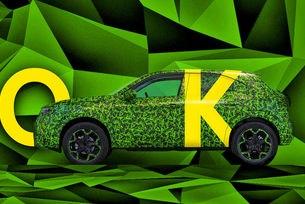 Opel показа тийзър за новия кросоувър Mokka