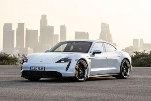Чуйте звуците на електрическия Porsche Taycan