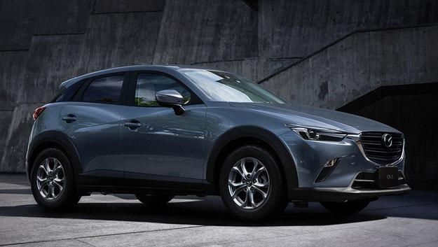 Mazda CX-3 променя базовия двигател в Япония
