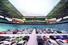 Превръщат огромен стадион в автомобилно кино