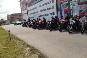 Demo Truck идва  София с 22  мотоциклета Harley-Davidson