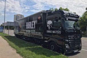 В София пристигат  22 мотоциклета  Harley-Davidson