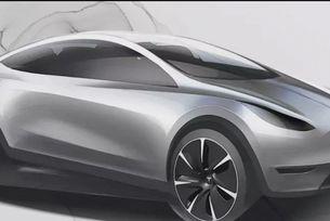 Tesla поиска от дизайнерите модел в китайски стил