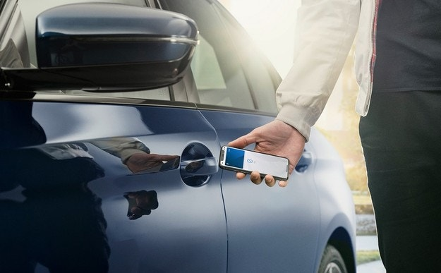 iPhone заменя ключа за автомобил BMW