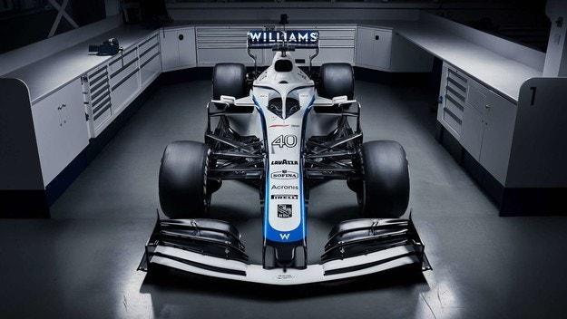 Williams показа новата си цветова схема
