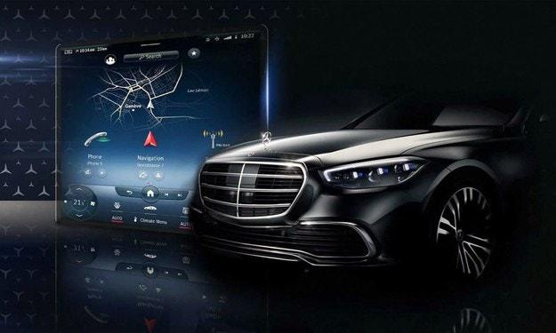 Още новости за салона на Mercedes S-класа