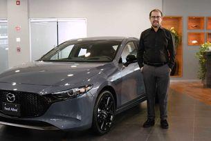 Показаха на видео топ версията на новата Mazda3
