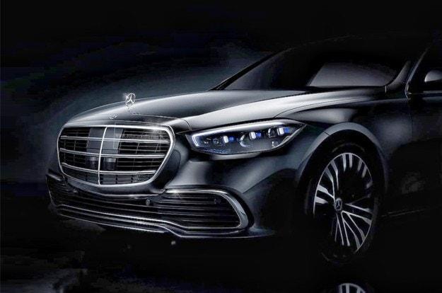 Mercedes показа на видео новата S-класа