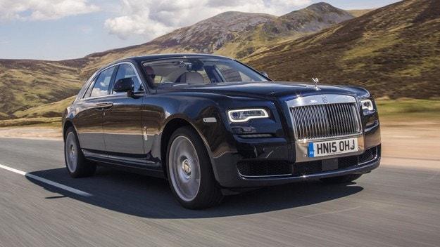 Новият Rolls-Royce Ghost с антибактериална защита