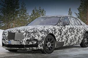 """""""Вторият"""" Rolls-Royce Ghost дебютира през есента"""