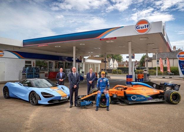 Gulf Oil се завръща във Формула 1