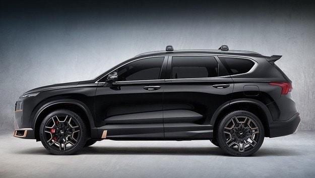 Обновеният Hyundai Santa Fe се родее с N-Line
