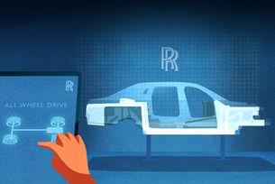 Новият Rolls-Royce Ghost се отличава с окачването