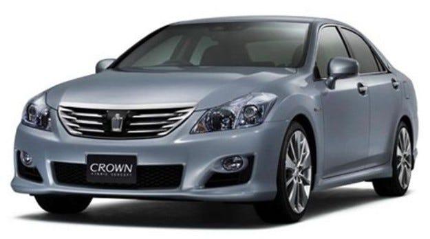 Toyota шумоизолира Crown Hybrid