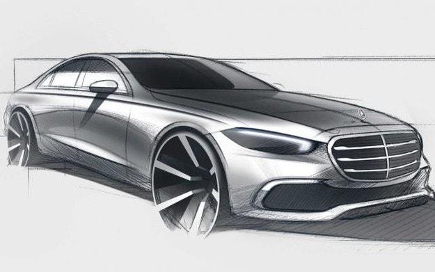 Mercedes разкри екстериора на новата S-класа
